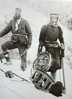 Figure 2. Mrs Aubrey le Blond in the mountains. Image from Wikimedia Commons