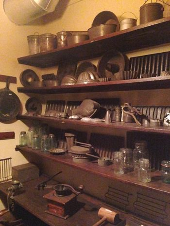 Gibson House Museum, Boston: kitchen equipment